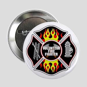 "Volunteer Firefighter 2.25"" Button"