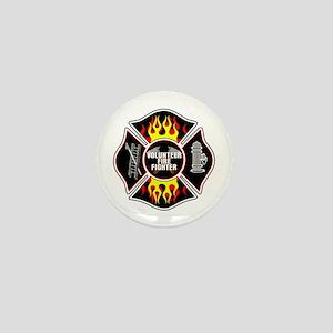 Volunteer Firefighter Mini Button (10 pack)