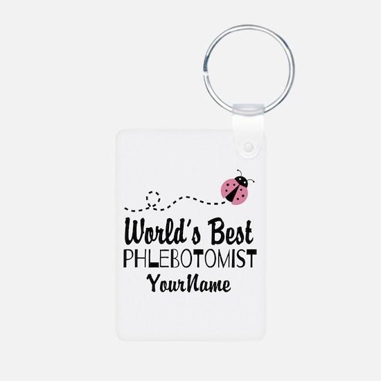 World's Best Phlebotomist Keychains