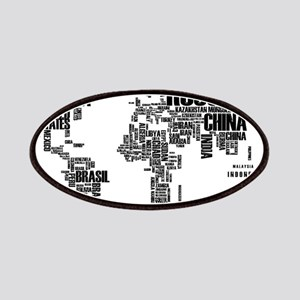 Typography Map Patches