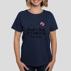 World's Best Veterinarian Women's Dark T-Shirt