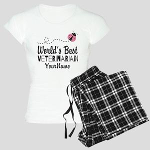 World's Best Veterinarian Women's Light Pajamas
