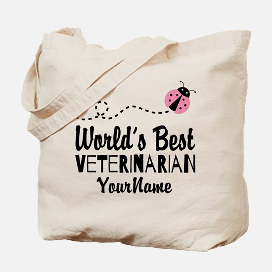 World's Best Veterinarian Tote Bag