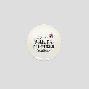 World's Best Esthetician Mini Button
