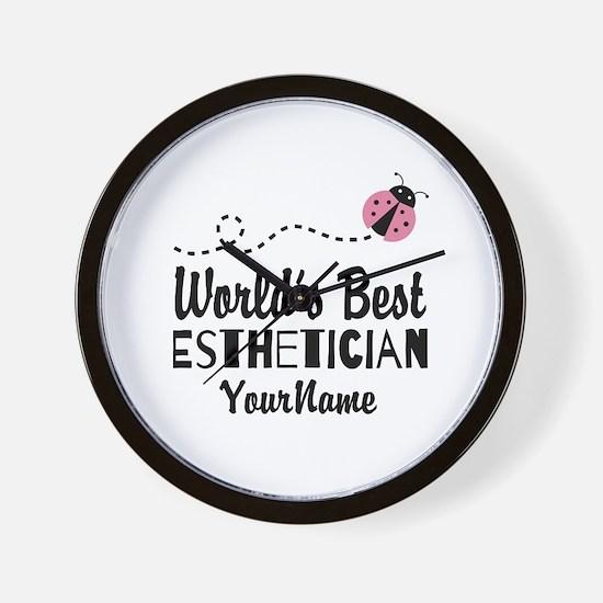 World's Best Esthetician Wall Clock