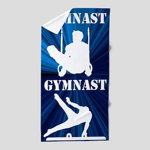 Cool Gymnast Beach Towel