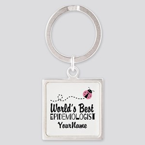 World's Best Epidemiologist Square Keychain