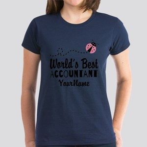 World's Best Accountant Women's Dark T-Shirt