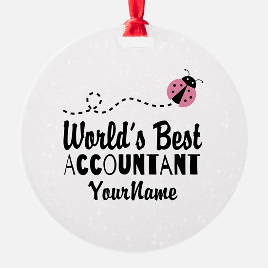 World's Best Accountant Ornament