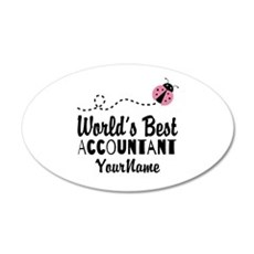 World's Best Accountant Wall Decal