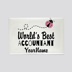 World's Best Accountant Rectangle Magnet