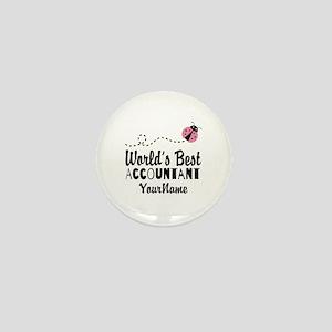 World's Best Accountant Mini Button