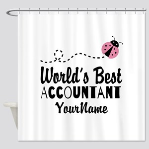 World's Best Accountant Shower Curtain
