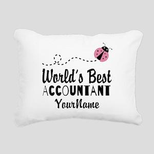 World's Best Accountant Rectangular Canvas Pillow