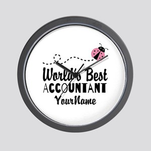 World's Best Accountant Wall Clock