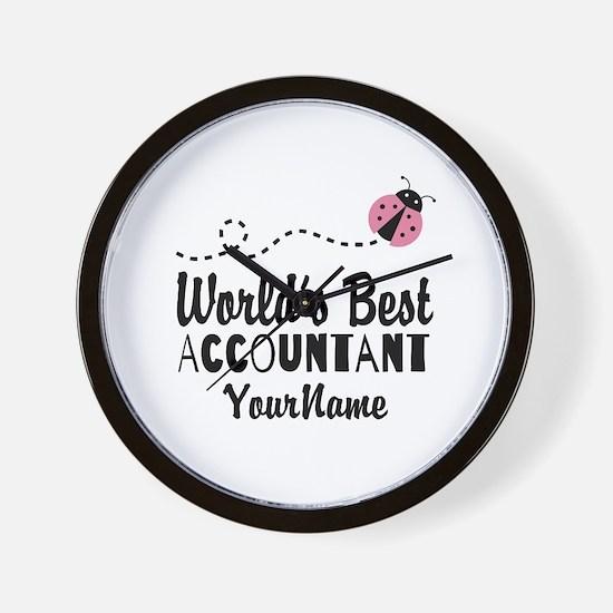 World's Best Accountant Wall Clock