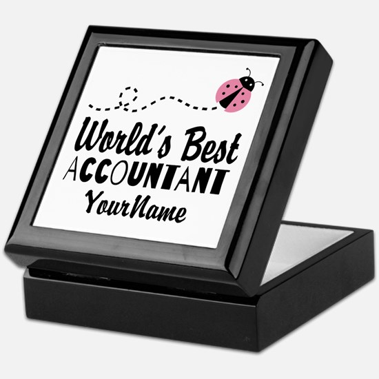 World's Best Accountant Keepsake Box