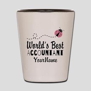 World's Best Accountant Shot Glass