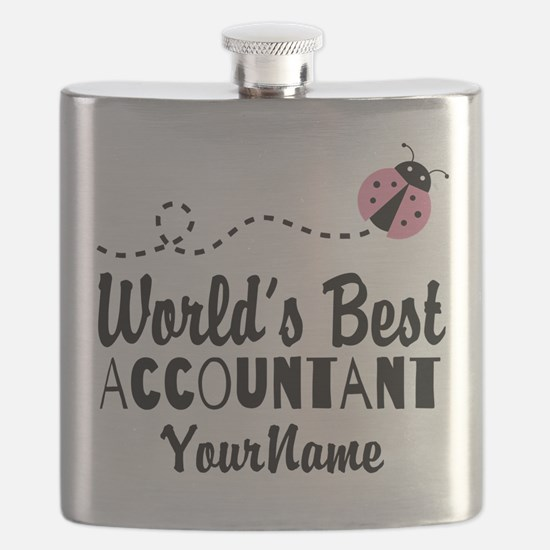 World's Best Accountant Flask