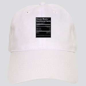 House Music Nutritional Facts Cap