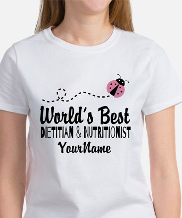 World's Best Dietitian Women's T-Shirt