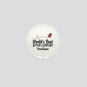 World's Best Dietitian Mini Button