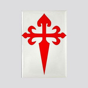 Cross of St. James Rectangle Magnet