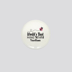 World's Best Massage Therapist Mini Button
