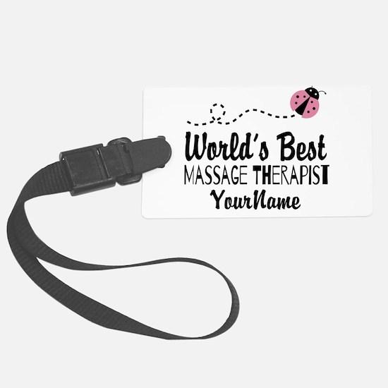 World's Best Massage Therapist Luggage Tag