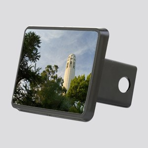 coit tower trees Rectangular Hitch Cover