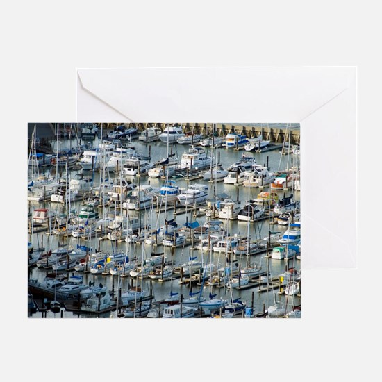 san francisco marina Greeting Card