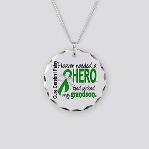 Cerebral Palsy HeavenNeededH Necklace Circle Charm
