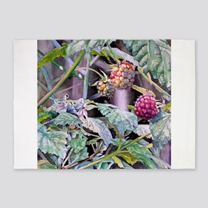 Three Berries 5'x7'Area Rug