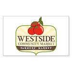 Westside Community Market Logo Sticker