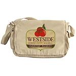 Westside Community Market Logo Messenger Bag