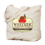 Westside Community Market Logo Tote Bag