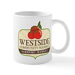 Westside Community Market Logo Mugs