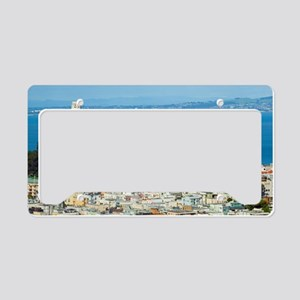 Telegraph Hill and Coit Tower License Plate Holder