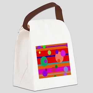Toy Talk Canvas Lunch Bag