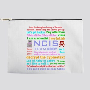 NCIS Abby Quotes Makeup Pouch