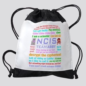 NCIS Abby Quotes Drawstring Bag