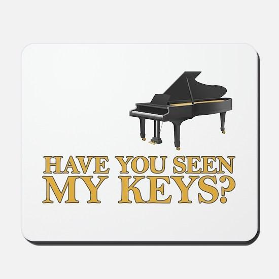 Have you seen my keys? Mousepad