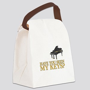 Have you seen my keys? Canvas Lunch Bag