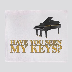 Have you seen my keys? Throw Blanket