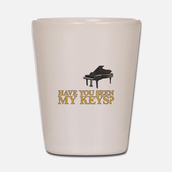 Have you seen my keys? Shot Glass