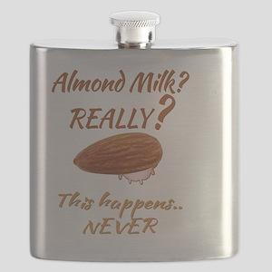 Funny Health Food Almond Milk Flask
