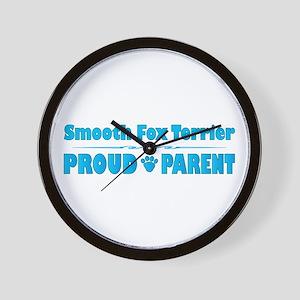Foxie Parent Wall Clock