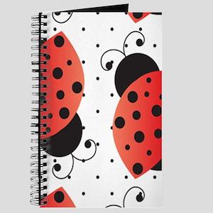 Cute Ladybugs Journal