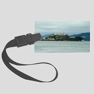 Alcatraz Island san francisco Large Luggage Tag