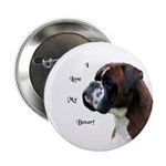 """I Love My Boxer 2.25"""" Button (100 pack)"""